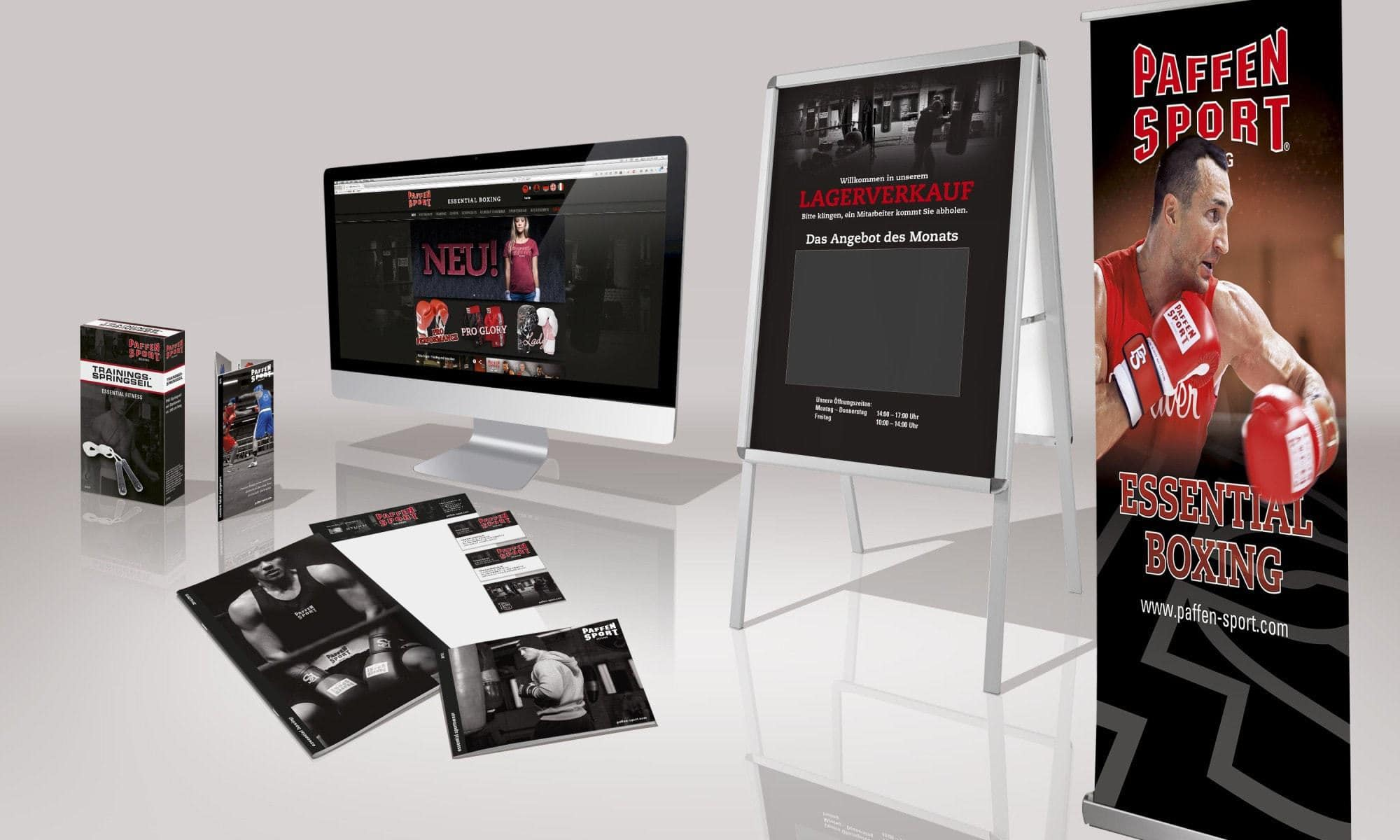 Paffen Sport Boxing Corporate Identity