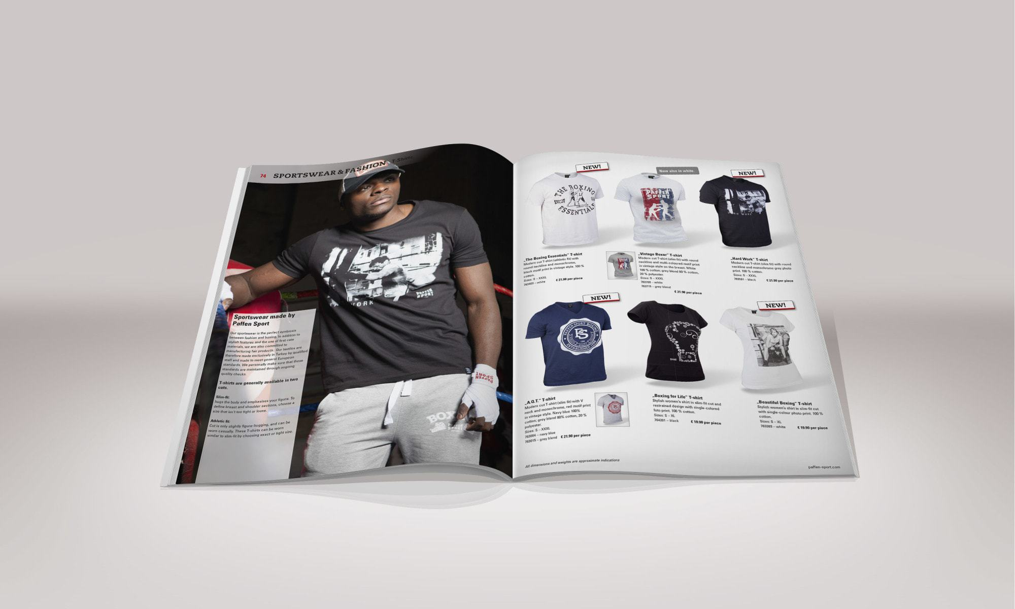 Paffen Sport Boxing – Katalog