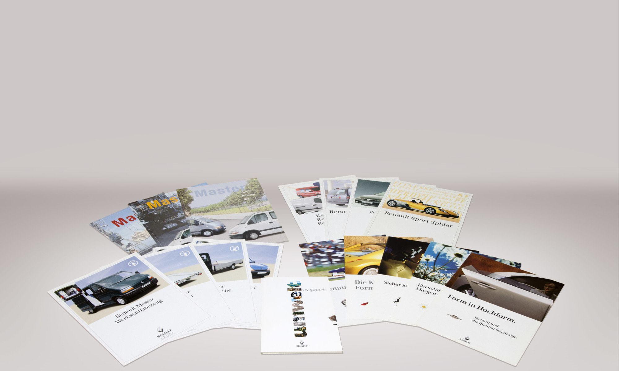 Renault Deutschland – verschiedene Prospekte und Beilagen