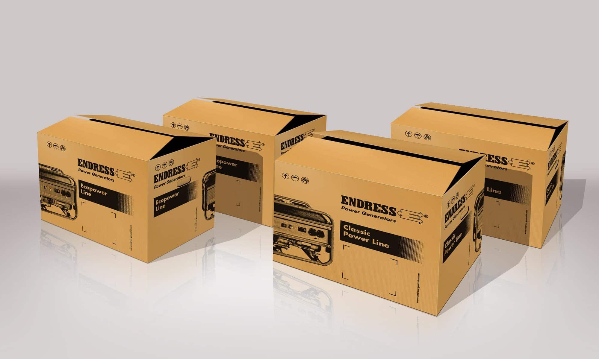 Endress – Verpackungen Eco und Classic Power Line