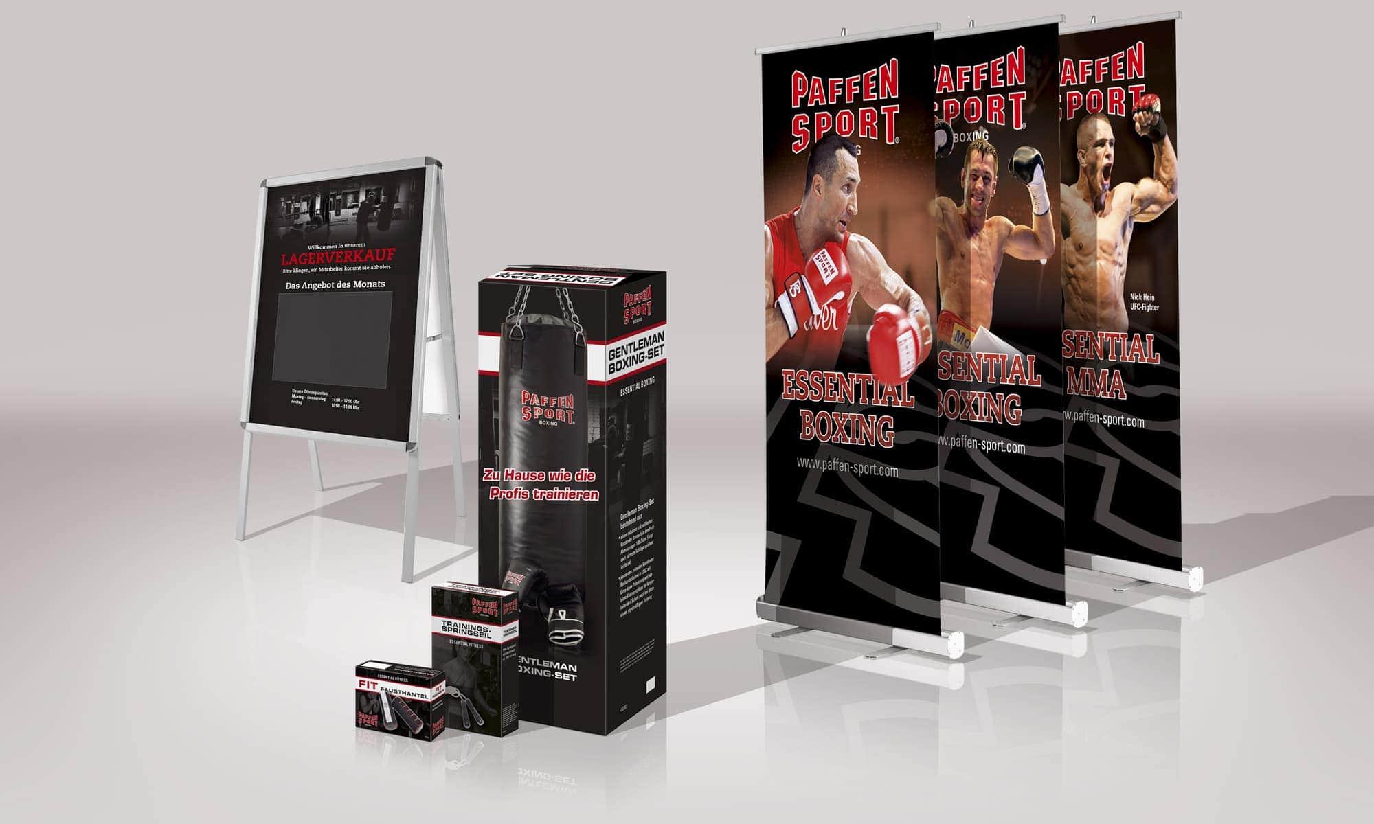 Paffen Sport Boxing - Verpackungen und Displays