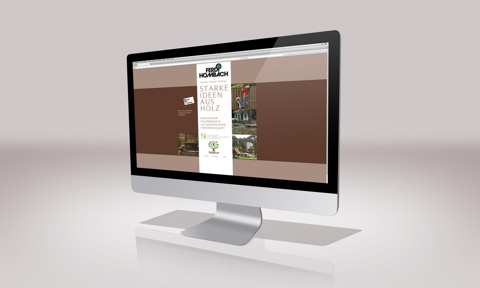 Ferdi Hombach – Website