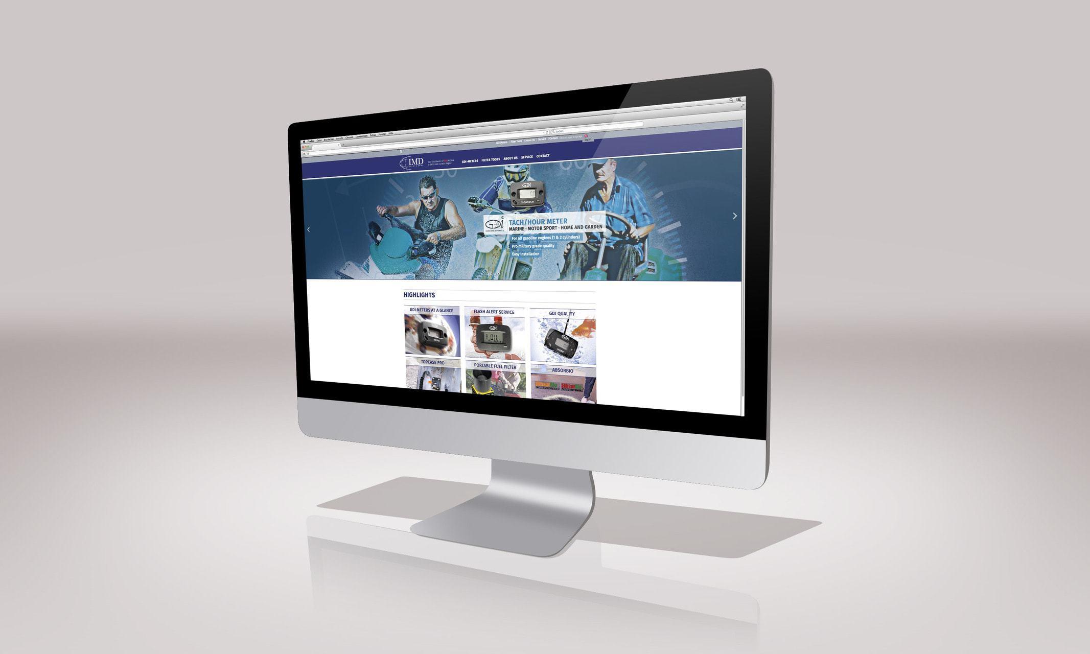 IMD Europe – mehrsprachige Website